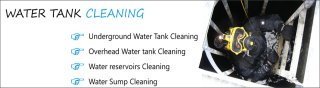 Water Tank Cleaning in karachi